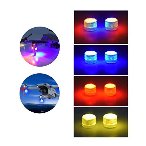 DJFEI LED Stroboskop Licht für Mavic Mini 2 Drohne, 2 Pcs Drohne Blitzlicht Nacht Navigationslicht Nacht Cruise Licht für DJI Mavic Mini 2 (C)