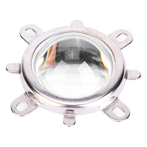 Oumefar Reflector Collimator Cup Reflector Base Optische Glaslinsen-Sets Feste Halterung Hochtemperaturbeständig 1Set für 20-100W LED-Licht(Beam Angle 60°)