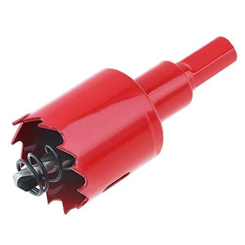 Brocas Para Herramienta de corte de orificio de perforación de orificio de bi-metal M42 con sierra de sierra y primavera para placa de PVC/carpintería-35mm_