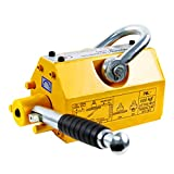 HONYTA Magnetic Lifter,1320 Lbs Lifting Capacity,Lifting Magnet with Release,Permanent Lift Magnets,Steel Magnetic Lifter,Magnet for Hoist,Used in Shop Crane,for Lifting Plate Steel,Board