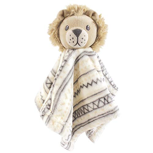 Hudson Baby Unisex Baby Security Blanket, Lion, One Size