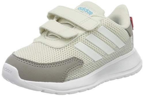 adidas Unisex Kinder TENSAUR Run I Sneaker, ORBGRY/FTWWHT/DOVGRY,23 EU