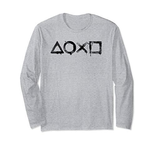 PlayStation Ink Wash 2 Long Sleeve T-Shirt