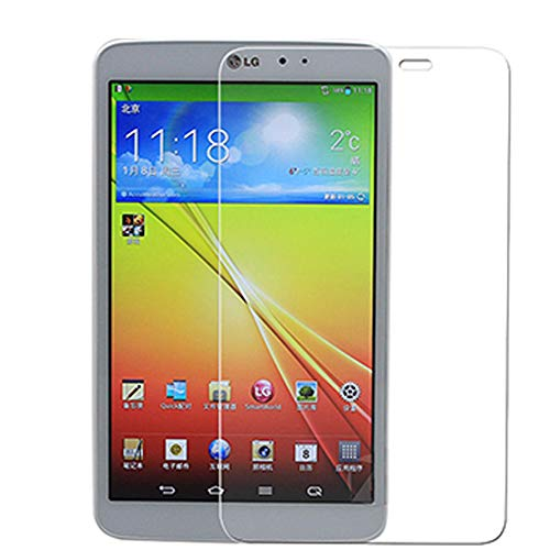GOGODOG [2 Unidades] LG G Pad 8.3 V500 Protector de Pantalla Protector de Pantalla Película de Vidrio Templado Anti-Huella Digital Crystal Clear 9H Dureza 10.1 Pulgada (LG G Pad 8.3 V500)