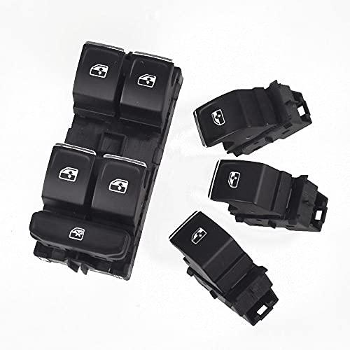 Interruptor de Control maestro de ventana lateral del conductor apto para VW Golf MK7 apto para Arteon apto para Passat apto para Tiguan 2015-2017 5G0959857C 5GG959857