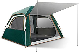 Camping Tent 6 Person Family Tents for Camping Party - Double Large Doors and Windows, for Family, Outdoor, Hiking, Use for All Seasons