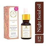 Just Herbs Ayurvedic Kimsukadi Tail Glow Boosting Facial Oil for All Skin Types, 100% Natural & Vegan, Cruelty Free, 15ml