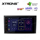 XTRONS 8' Android 9.0 4GB RAM 64GB ROM Autoradio mit Touch Screen Octa Core Multimedia Player...
