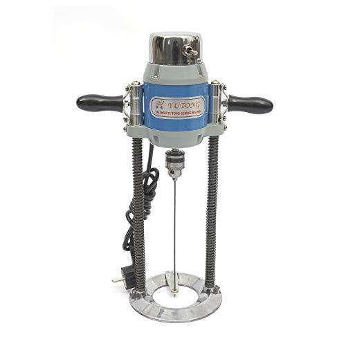 Taladro de posicionamiento eléctrico vertical para ropa, equipo necesario para la producción de prendas