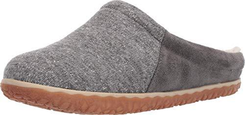 Minnetonka Women's Tahoe Outdoor Slippers 9 M Grey