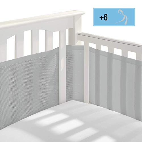 41NP2gVEcEL - BreathableBaby Classic Breathable Mesh Crib Liner