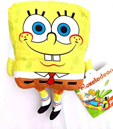 Spongebob Squarepants Stuffed Figure Plush Doll Toy Gift Kids Boys Girls 9 Nickelodeon 90s Plush product image