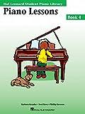 Piano Lessons Book 4: Hal Leonard Student Piano Library (Hal Leonard Student Piano Library (Songbooks))