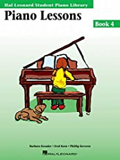 Image of Piano Lessons Book 4: Hal. Brand catalog list of Hal Leonard Publishing Co.