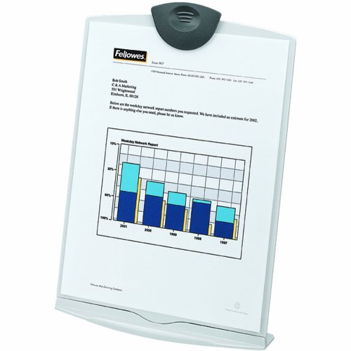 Fellowes Copystand, Platinum/Charcoal (20000)