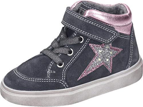 Richter Kinderschuhe Flora 3756-8111 Sneaker, 6401vulca/candy/silv/fux, 32 EU