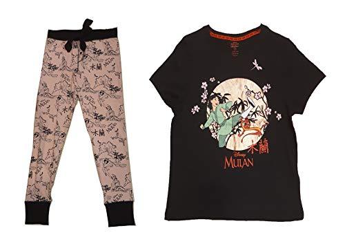 Disney Mulan Dames Pyjama Set Dames Pyjama Set voor Dames Nachtkleding Mulan Vrouwen PJ Set