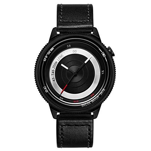 Smartwatches,Kreative Linse Individuelle Männer Und Frauen Gezeiten- Uhr Einfache Mode Paar Quarz wasserdichte Uhr B