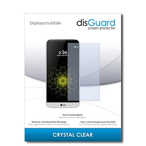 disGuard Bildschirmschutzfolie für LG G5 SE [2 Stück] Crystal Clear, Kristall-klar, Unsichtbar, Extrem Kratzfest - Bildschirmschutz, Schutzfolie, Glasfolie, Panzerfolie