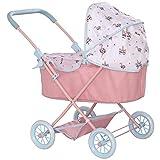 HTI Babyboo Junior Roamer Kinderwagen | Kinder-Baby-Puppenwagen | tolles Geschenk für Mädchen und Jungen ab 3 Jahren
