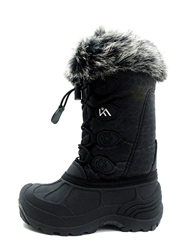 ICEFACE Kids Winter Snow Boots Waterproof and Insulated for Girls and Boys (6 M US Big Kid,...