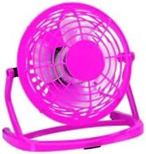 Tafelventilator, 14 cm, mini-USB-ventilator, stil, roze