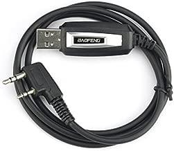 Baofeng Programming Cable for BAOFENG UV-5R/5RA/5R Plus/5RE, UV3R Plus, BF-888S, 5R EX, 5RX3, GA-2S
