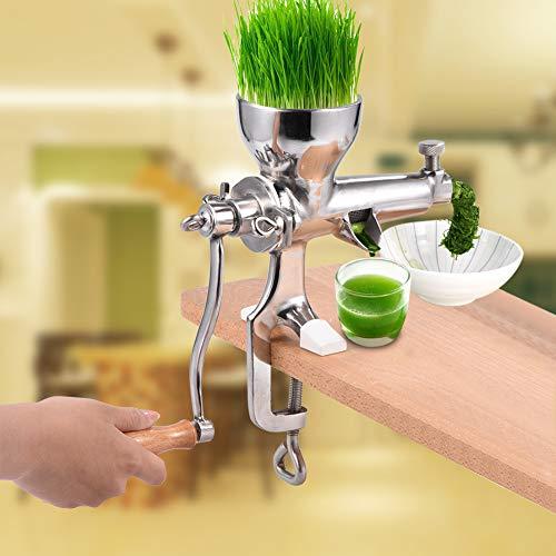 【𝐇𝐚𝐩𝐩𝒚 𝐍𝐞𝒘 𝐘𝐞𝐚𝐫 𝐆𝐢𝐟𝐭】Weizengras Entsafter, Edelstahl Weizengras Entsafter Manuelle Hand Gesundheit Entsafter Werkzeug