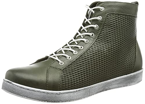 Andrea Conti Damen 0027940 Sneaker, Oliv, 37 EU