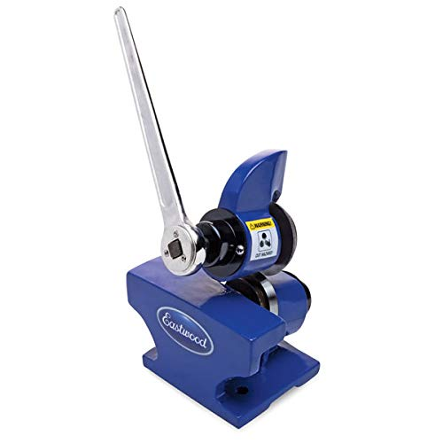 Eastwood Rotary Metal Shear With Ratcheting Handle Plate Cutter Rolling Cutting Sheet Metal Bench Top