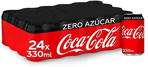 Coca Cola Zero Azúcar - Lata 330ml X 24 Latas
