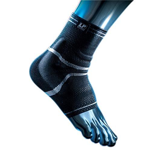 LP Support X-TREMUS 110XT Kompressions Knöchelbandage - Knöchel-Stütze für Sport, Größe:L, Farbe:schwarz