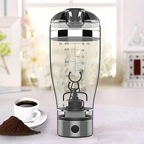 Stronghigheu Elektrischer Eiweiss-Shaker Mixer Shaker Becher Flasche Kreative Elektrische Mixer Automatik Bewegung Vortex Auslaufsicher Für Säfte Cocktails Kaffee Tee