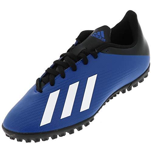 adidas X 19.4 Tf, Scarpe da Calcio da Uomo, Blu Team Royal Blue Ftwr White Core Black, 43 1/3 EU