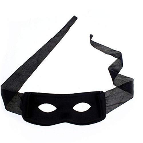 4pcs Creativas Antifaces Ladrón Bandit Cómodo Máscaras De