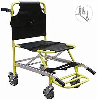 Silla de Aluminio Ambulancia de Peso Ligero Elevador médico, Transporte de Pacientes paramédicos Silla de
