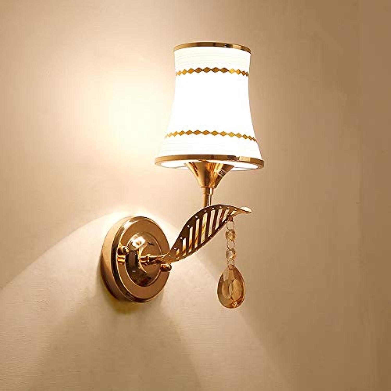 Wandlampe Nachttischlampe Wand Schlafzimmer Einfache Moderne Kreative Europische Amerikanische Wohnzimmer Führte Treppenhaus Gang Lampen (Farbe   B, Größe   1)