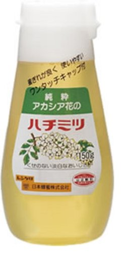 日本蜂蜜 レンゲ印 アカシア花はちみつ 150g [2179]
