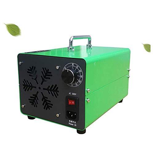 MOSHANG Generador de ozono Comercial 20000mg / h, purificador de Aire O3, Desodorante, Desodorante, máquina de ozono para Humo de habitación y Mascotas