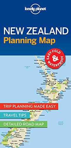 Lonely Planet New Zealand Planning Map [Idioma Inglés]