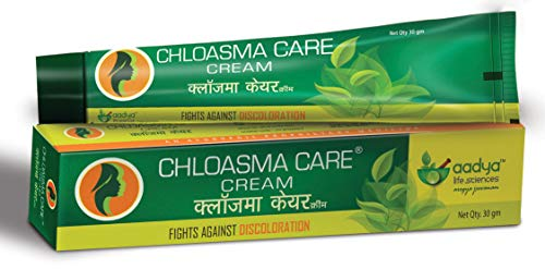 Aadya Life Sciences LLP - Chloasma Care Cream - Helps with Hyperpigmentation, Stretch marks, Blemishes (Pack of 1)