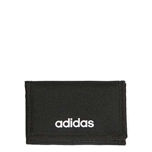 Adidas FL3650 Lin Wallet Wallet Unisex-Adult Black/Black/White NS