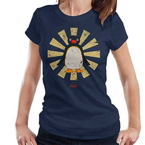 Pingu Noot Retro Japanese Women's T-Shirt