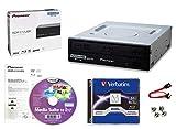 Pioneer BDR-212UBK Kit bruciatore Blu-ray 16x interno con software di masterizzazione Cyberlink, 50 GB M-DISC BD-R DL, cavo SATA e vite di montaggio - CD DVD BD DL BD BDXL Masterizzatore CD