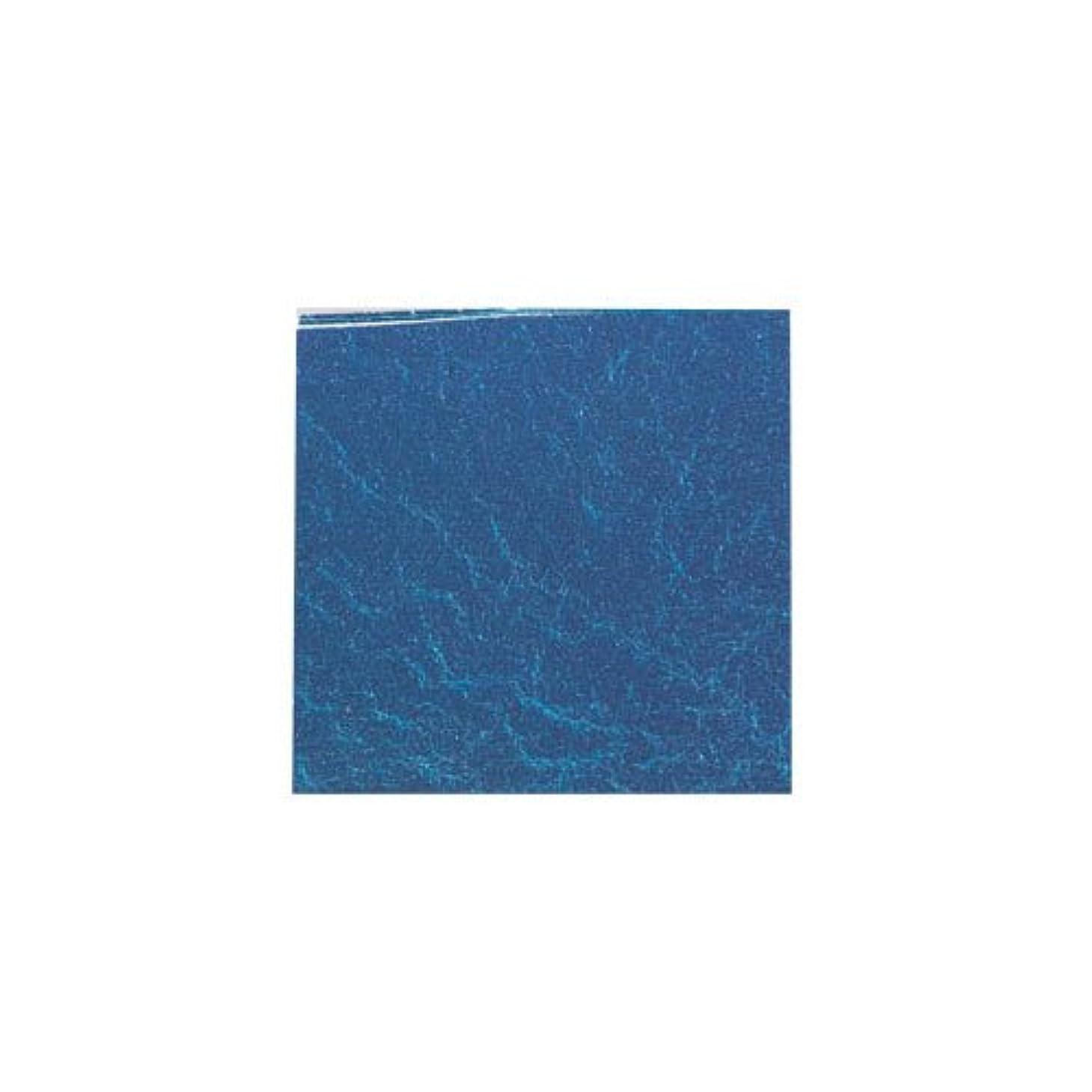 抜け目がないレビュアーリハーサルピカエース ネイル用パウダー カラー純銀箔 #613 藍色 3.5㎜角×5枚