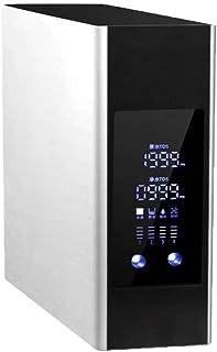 ZXGHS Filtro De Agua para Grifo, Sistema De Filtración De Cuatro Capas, con Pantalla LED, Hogar Purificador De Agua Cocina Filtro De Agua del Grifo,Plata