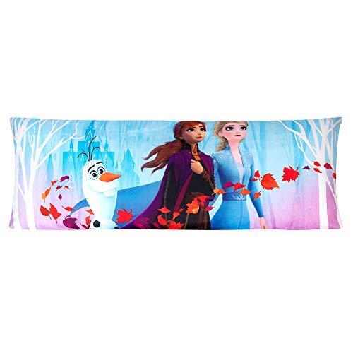 "Franco Kids Bedding Super Soft Microfiber Zippered Body Pillow Cover, 20"" x 54"", Disney Frozen 2"