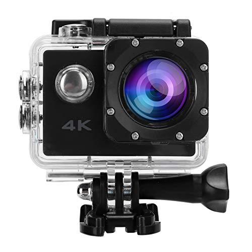 Videocámara A Prueba De Agua, Cámara De Imagen 4K De Fotografía Gran Angular para Fotografía HD Segura