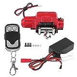 Zouminy Cabrestante con Receptor de Control Remoto inalámbrico para 1/10 Crawler Traxxas HSP Redcat RC-4WD Car