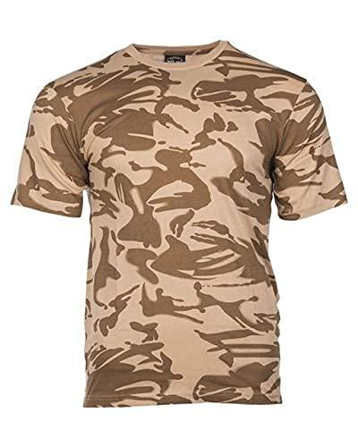 Mil-Tec EE.UU. Camiseta Ligero Camuflaje (Brit. DPM Desierto/M)
